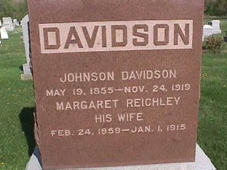 DAVIDSON, MARGARET - Henry County, Iowa | MARGARET DAVIDSON