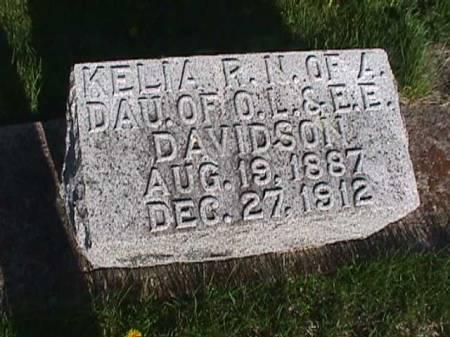 DAVIDSON, KELIA - Henry County, Iowa   KELIA DAVIDSON