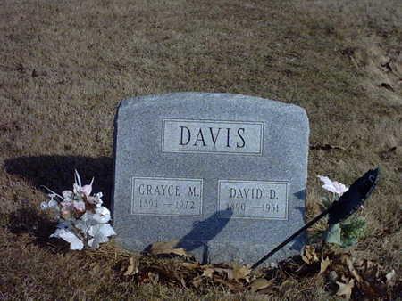 MCGUIRE DAVIS, GRAYCE M. - Henry County, Iowa | GRAYCE M. MCGUIRE DAVIS