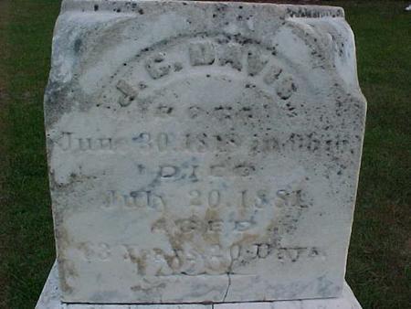 DAVIS, J. C. - Henry County, Iowa | J. C. DAVIS