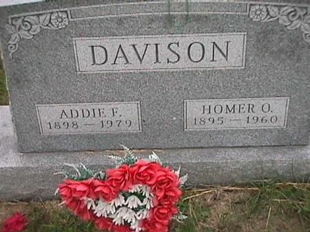 DAVISON, HOMER - Henry County, Iowa | HOMER DAVISON