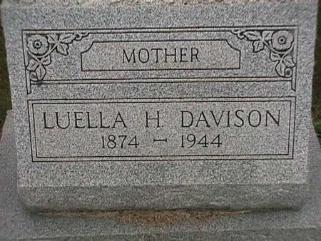 DAVISON, LUELLA - Henry County, Iowa   LUELLA DAVISON