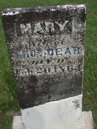 DEAR, MARY - Henry County, Iowa   MARY DEAR