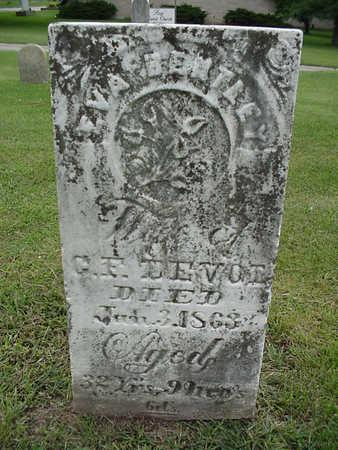 BENTLEY DEVOL, EVA - Henry County, Iowa | EVA BENTLEY DEVOL