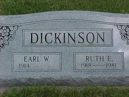 DICKINSON, RUTH - Henry County, Iowa   RUTH DICKINSON