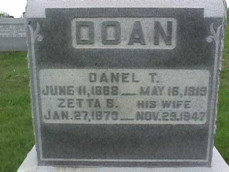 DOAN, DANIEL - Henry County, Iowa | DANIEL DOAN