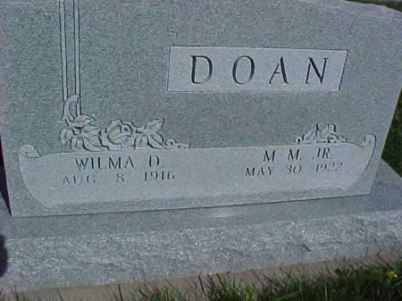 DOAN, WILMA D. - Henry County, Iowa   WILMA D. DOAN