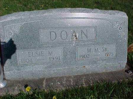 DOAN, M. M. SR. - Henry County, Iowa | M. M. SR. DOAN