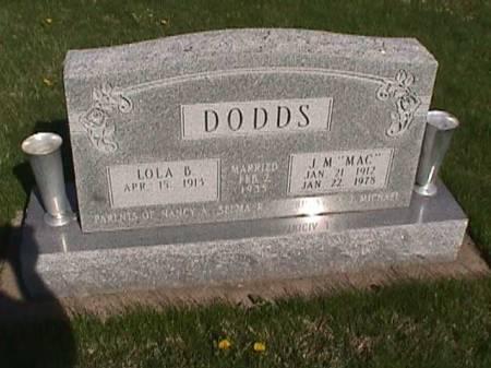 DODDS, J. M. - Henry County, Iowa | J. M. DODDS