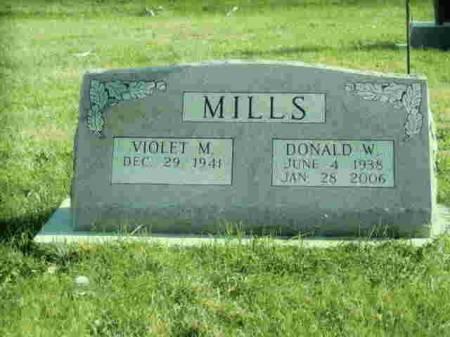 MILLS, DONALD W - Henry County, Iowa | DONALD W MILLS