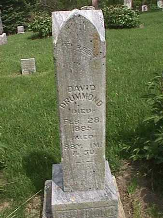 DRUMMOND, DAVID - Henry County, Iowa   DAVID DRUMMOND