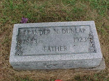 DUNLAP, LEANDER - Henry County, Iowa | LEANDER DUNLAP