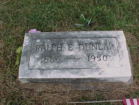DUNLAP, RALPH E. - Henry County, Iowa | RALPH E. DUNLAP