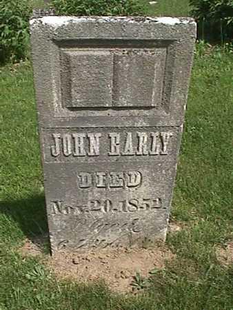 EARLY, JOHN - Henry County, Iowa | JOHN EARLY