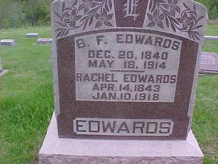 EDWARDS, B. F. - Henry County, Iowa | B. F. EDWARDS