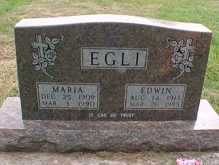 EGLI, EDWIN - Henry County, Iowa   EDWIN EGLI