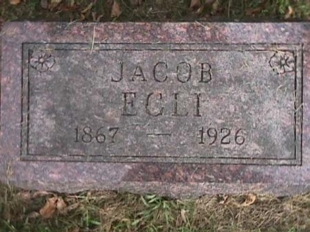 EGLI, JACOB - Henry County, Iowa | JACOB EGLI