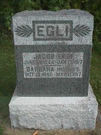 EGLI, BARBARA - Henry County, Iowa | BARBARA EGLI