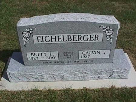EICHELBERGER, BETTY L. - Henry County, Iowa | BETTY L. EICHELBERGER