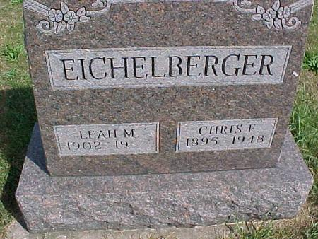 EICHELBERGER, CHRIS - Henry County, Iowa | CHRIS EICHELBERGER
