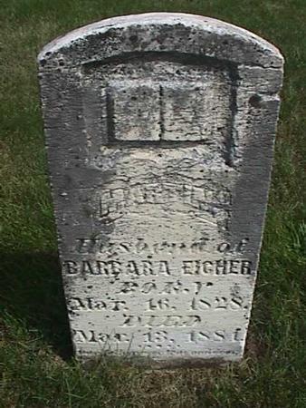 EICHER, MARTIN - Henry County, Iowa   MARTIN EICHER