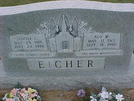 EICHER, MYRTLE - Henry County, Iowa | MYRTLE EICHER