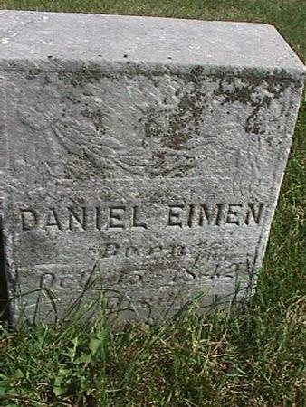 EIMEN, DANIEL - Henry County, Iowa | DANIEL EIMEN