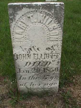 ELLIOTT, MARY - Henry County, Iowa | MARY ELLIOTT