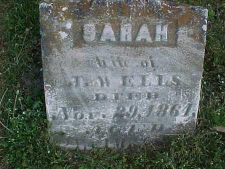 ELLS, SARAH - Henry County, Iowa | SARAH ELLS