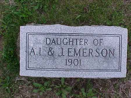 EMERSON, DAUGHTER - Henry County, Iowa | DAUGHTER EMERSON