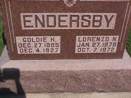 ENDERSBY, GOLDIE H. - Henry County, Iowa | GOLDIE H. ENDERSBY