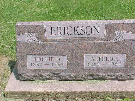 ERICKSON, ALFRED - Henry County, Iowa   ALFRED ERICKSON