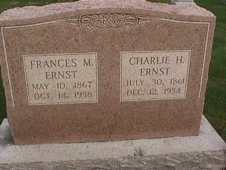 ERNST, CHARLIE H - Henry County, Iowa | CHARLIE H ERNST