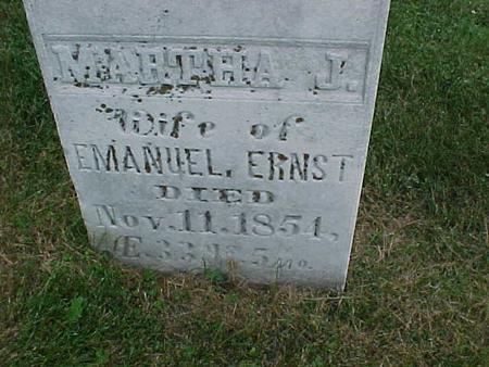 ERNST, MARTHA - Henry County, Iowa | MARTHA ERNST