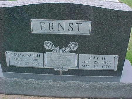 ERNST, EMMA - Henry County, Iowa | EMMA ERNST