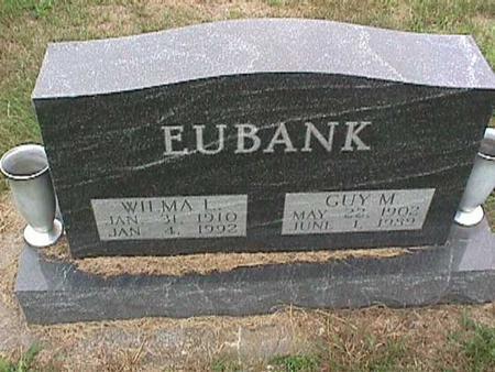 EUBANK, GUY - Henry County, Iowa   GUY EUBANK
