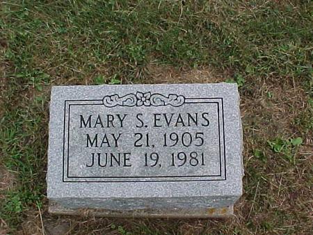 EVANS, MARY S. - Henry County, Iowa | MARY S. EVANS