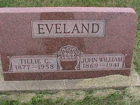 EVELAND, JOHN - Henry County, Iowa   JOHN EVELAND