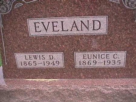 EVELAND, LEWIS - Henry County, Iowa | LEWIS EVELAND