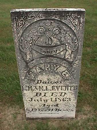 EVERTS, MARY - Henry County, Iowa | MARY EVERTS