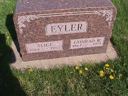 EYLER, ALICE - Henry County, Iowa | ALICE EYLER
