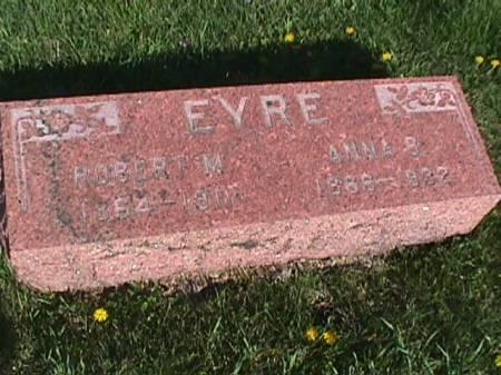 EYRE, ANNA B - Henry County, Iowa | ANNA B EYRE