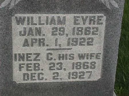 EYRE, INEZ C. - Henry County, Iowa   INEZ C. EYRE