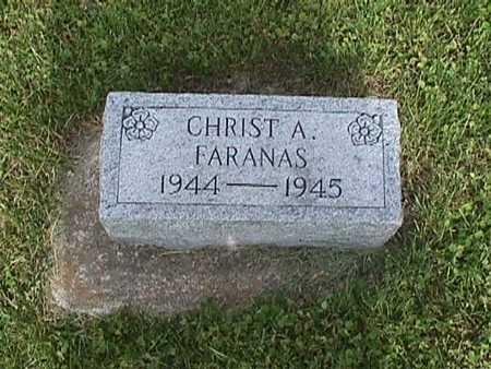 FARANAS, CHRIST - Henry County, Iowa | CHRIST FARANAS