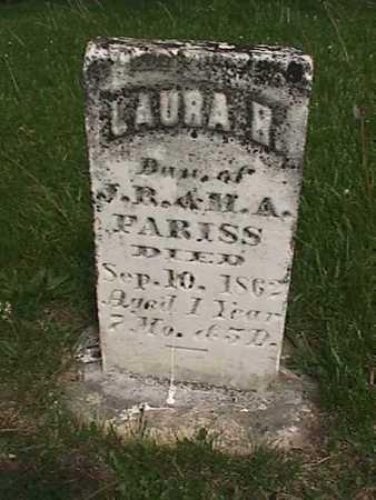 FARISS, LAURA H - Henry County, Iowa | LAURA H FARISS