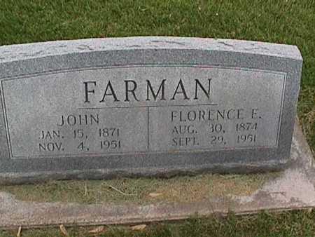 FARMAN, JOHN - Henry County, Iowa | JOHN FARMAN