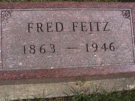 FEITZ, FRED - Henry County, Iowa   FRED FEITZ