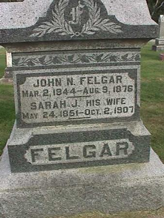 FELGAR, JOHN N - Henry County, Iowa | JOHN N FELGAR