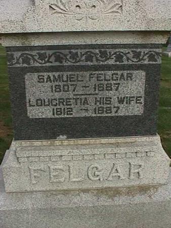 FELGAR, SAMUEL - Henry County, Iowa | SAMUEL FELGAR