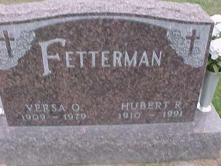 FETTERMAN, HUBERT - Henry County, Iowa | HUBERT FETTERMAN